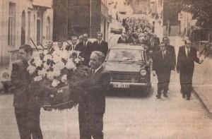 Beerdigung Adolf Schlieper | Kirmesgruppe Aechter de Biecke